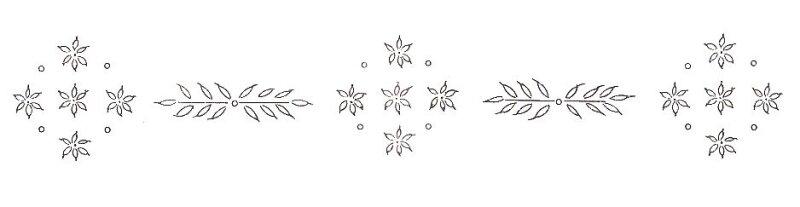 Patrones para bordados diciembre 2012 - Dibujos navidenos para bordar ...