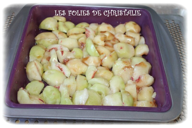 Clafoutis pêches 2