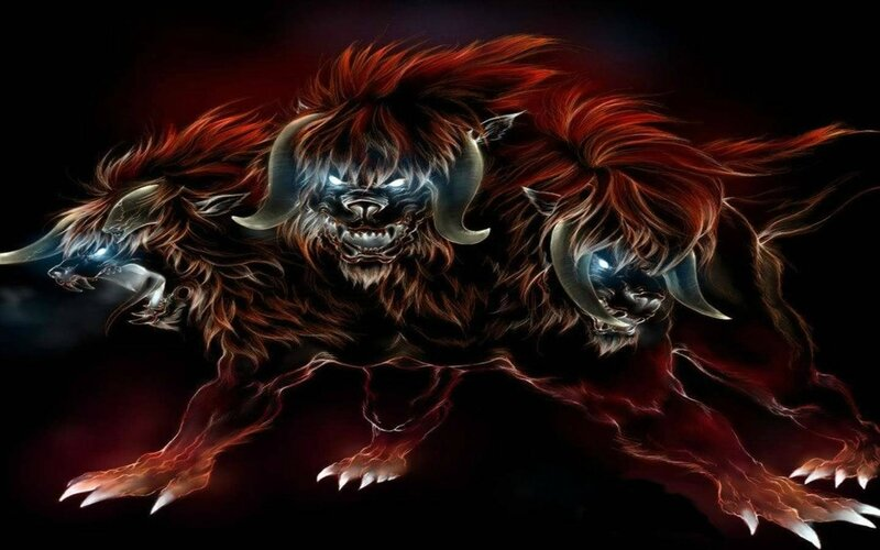 304254-mythical-creatures-cerberus-illustration
