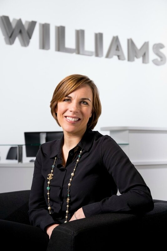 claire williams 2017