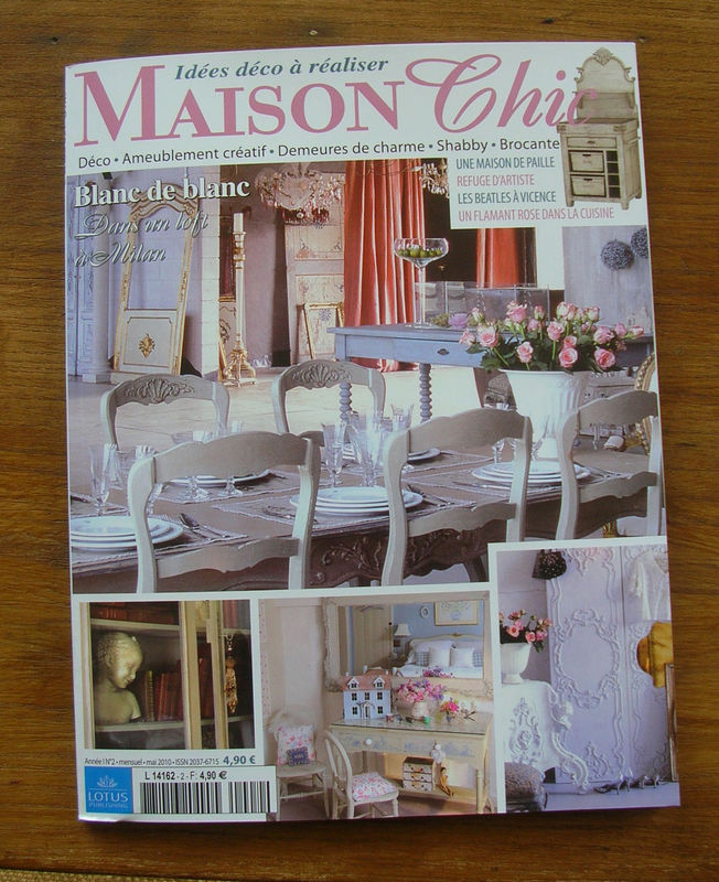 Magazine maison linge de lit with magazine maison marie for Abonnement maison chic magazine