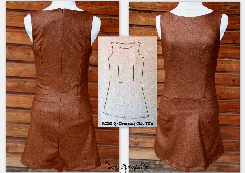 Dressing chic - robe trapèze-002