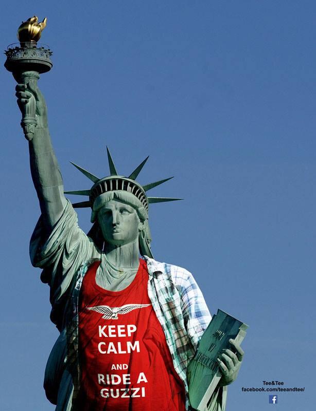 Guzzi statue de la Liberté