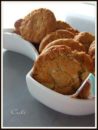 Cookies au Dulce de Leche & Chocolat Blanc 005