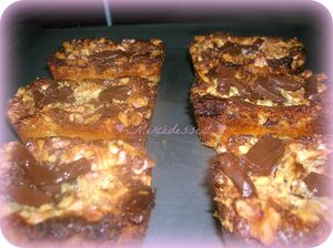 BROWNIES INAVOUABLES CHOCOLAT NOIX mercedessert