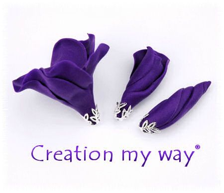 inspiration lisianthus et vioui le violet revient en force lol cr ation my way. Black Bedroom Furniture Sets. Home Design Ideas