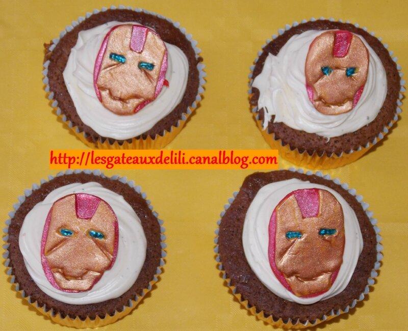 2014 05 04 - Cupcakes Iron Man (2)