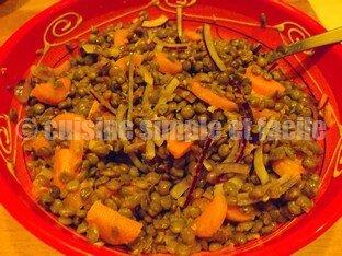 salade lentilles saumon 02