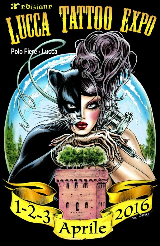 Expo Lucca Tattoo actions 01-03 Avril 2016
