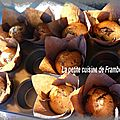 Muffins marbrs chocolat