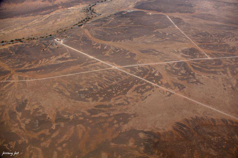 tracks from sky