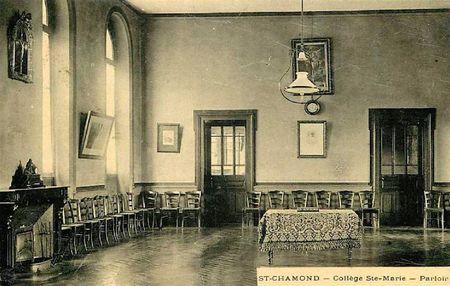 parloir collège Ste-Marie