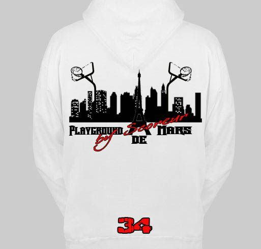 sweat blanc-back playground2 rouge copie
