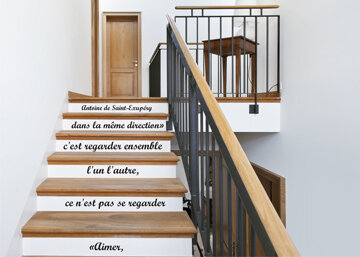 nouvel escalier le grenier de bertille. Black Bedroom Furniture Sets. Home Design Ideas