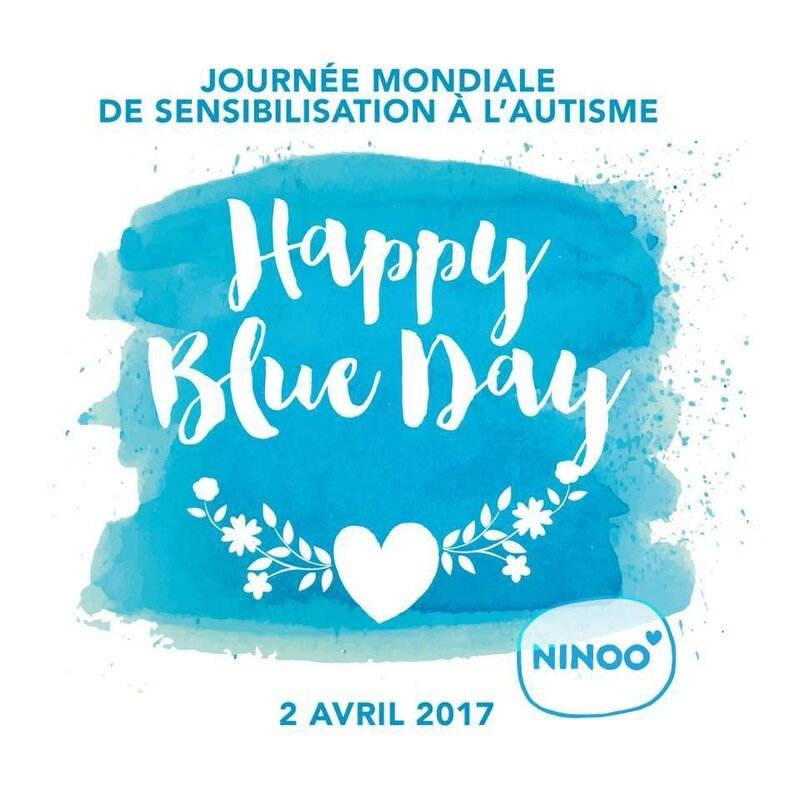 happy blue Day 2017