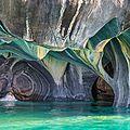 La cathedrale de marbre de puerto rio tranquilo - chili ...