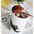 Un mug cake aux 2 chocolats: recette rapide et inratable.....