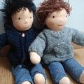 Présentation des poupées