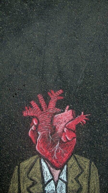 coeur sur les epaules