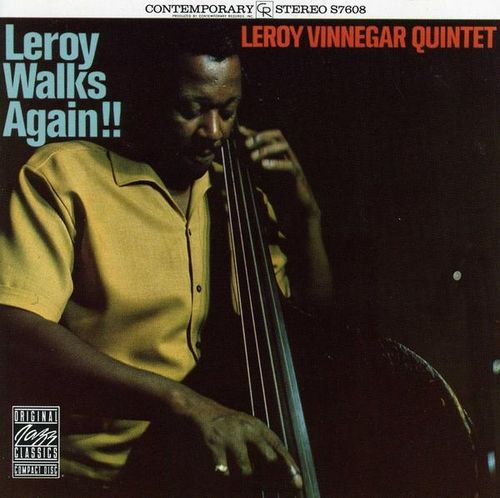 Leroy Vinnegar Quintet - 1962 - Leroy Walks Again!! (Contemporary)