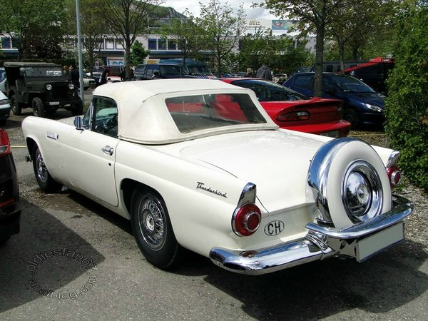 ford thunderbird continental kit 1956 b
