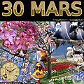 mois de MARS 30