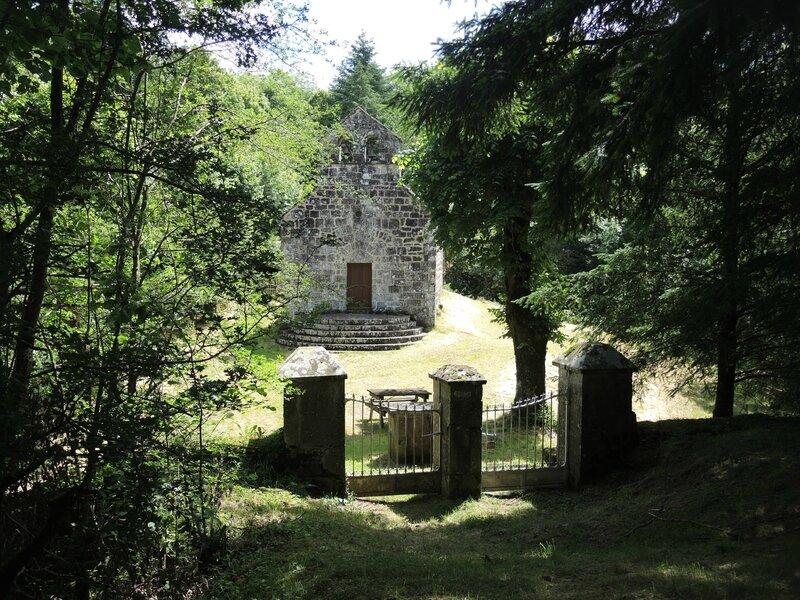 Moussages, chapelle de Jailhac