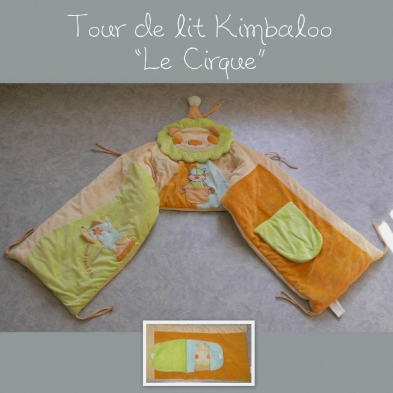vendu tour de lit kimbaloo le cirque l f e du vide. Black Bedroom Furniture Sets. Home Design Ideas