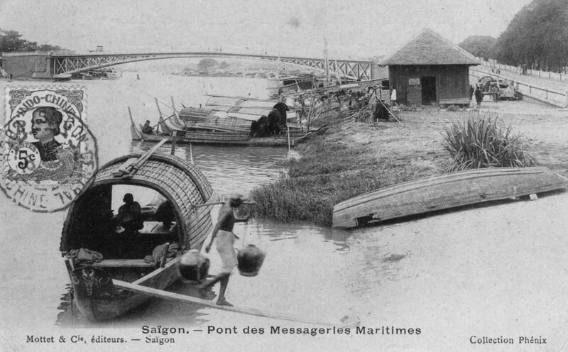 Saïgon pont messageries