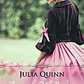 A cause de mlle bridgerton ❉❉❉ julia quinn
