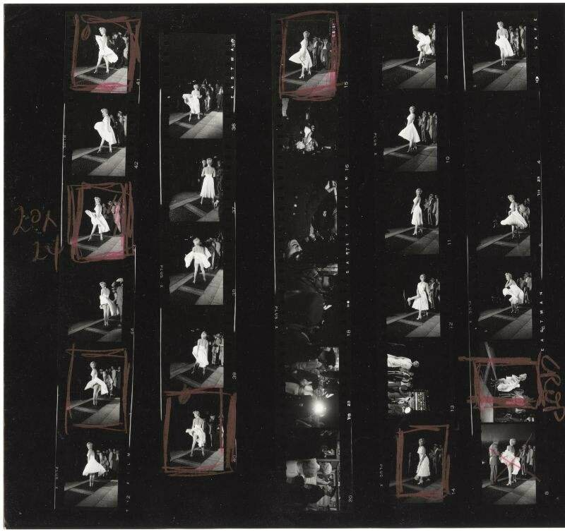 by_elliott_erwitt-THE-SEVEN-YEAR-ITCH-CONTACT-SHEET-1954-1-BHC0352