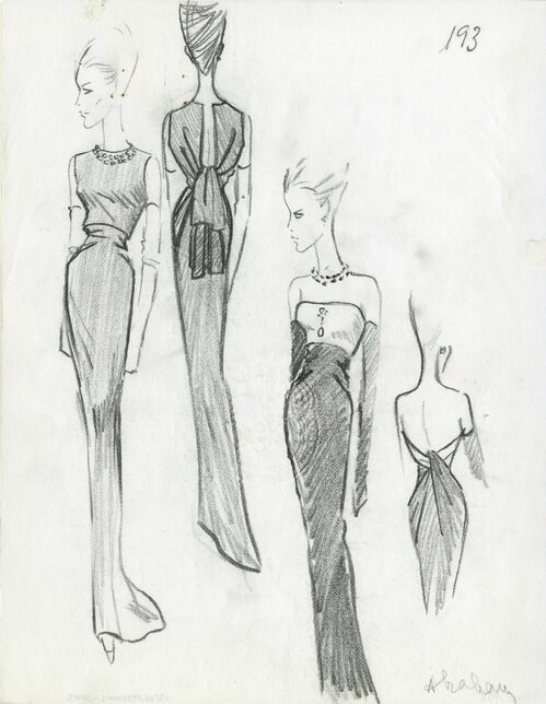 Illustration from the Summer 1964 collection