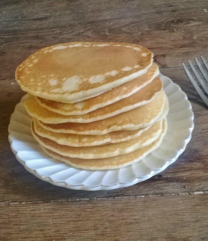 pancakes,gâteauà la poêle