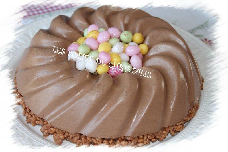 Bavarois au chocolat 14