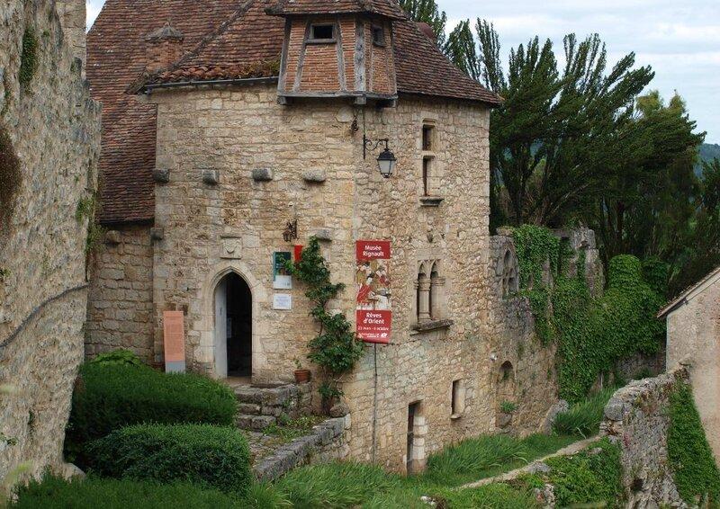Saint Cirq Lapopie Le Village Des Artistes Dans Ma Bonjotte