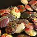 Bagues et broches washi