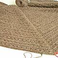 Eva's shawl : à mi- chemin