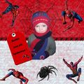 page digiscrap spiderman2