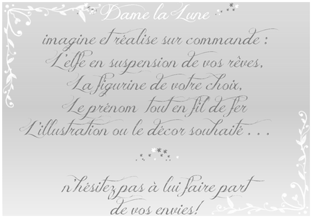 commande_sur mesure_Dame_la_lune_figurine_illustration_fildefer_decor_gris2012