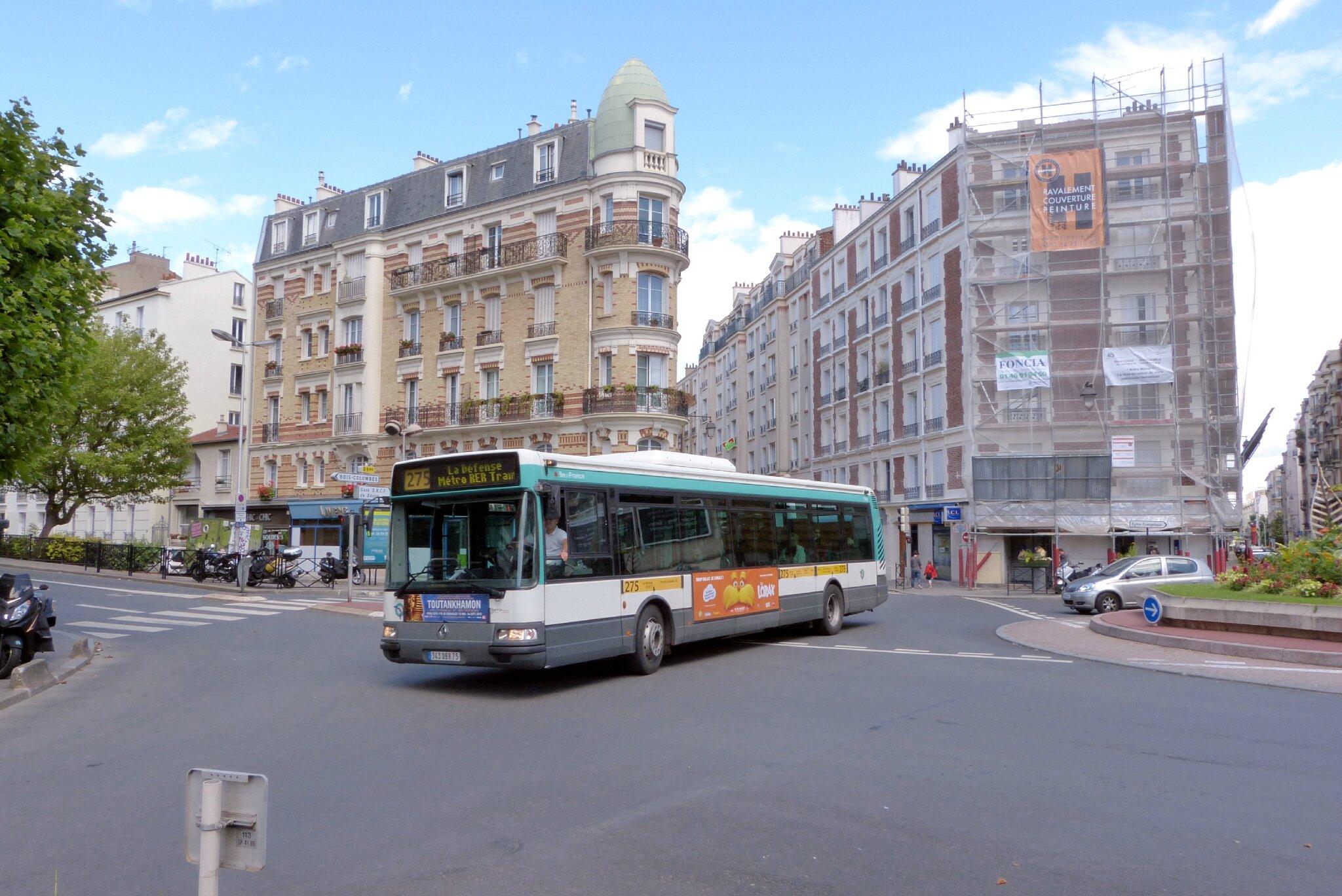 evolution du parc bus de la ratp transportparis le webmagazine des transports parisiens. Black Bedroom Furniture Sets. Home Design Ideas