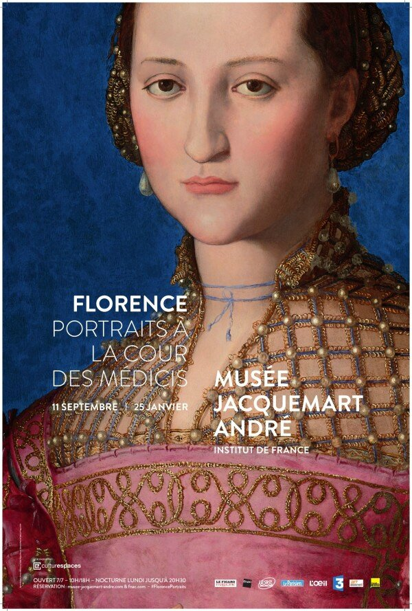 """""""Florence, Portraits à la cour des Médicis"""" au Musée Jacquemart-André"""