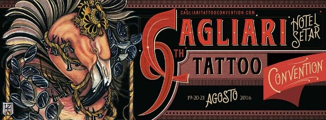 Cagliari Tattoo Convention 19 - 21 Août 2016