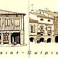 St-Sulpice - les couverts