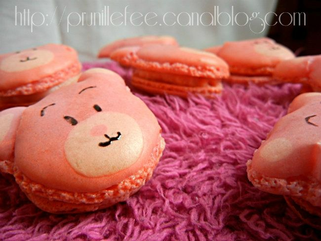 cours de macarons prunille fait son show