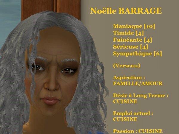 Noëlle BARRAGE