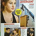 New stills Divergent movie People magazine