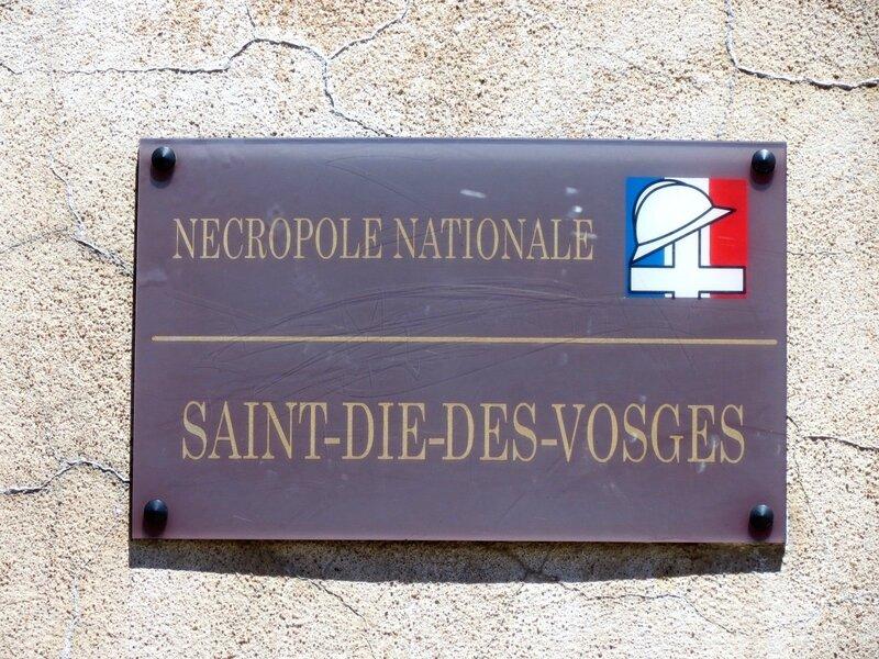 Joannès Béraud nécropole plaque