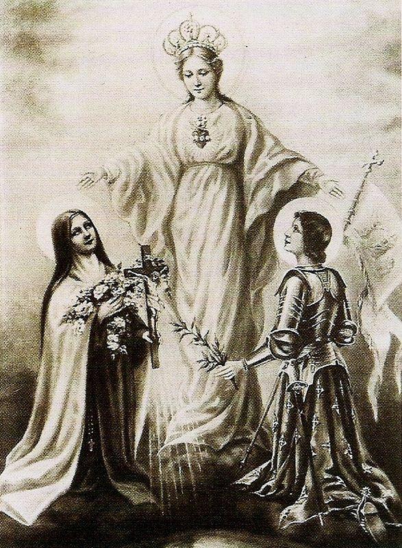 Du 22 au 30 Mai Neuvaine à Ste Jeanne d'Arc pour la France!!! 30740802