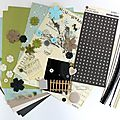 Kit atelier multi*albums de juillet (2ème version).