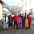 1ère séance de ski !!!
